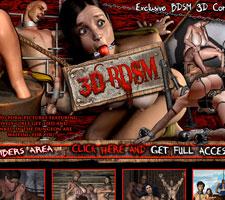 Cruel 3D BDSM Artwork